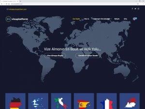 Eu Visa Platform Web Sitesi