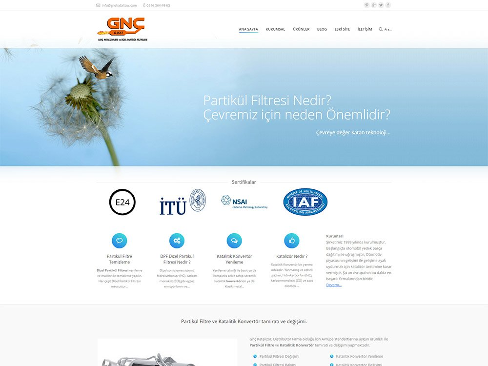 Gnc Katalizör Web Sitesi