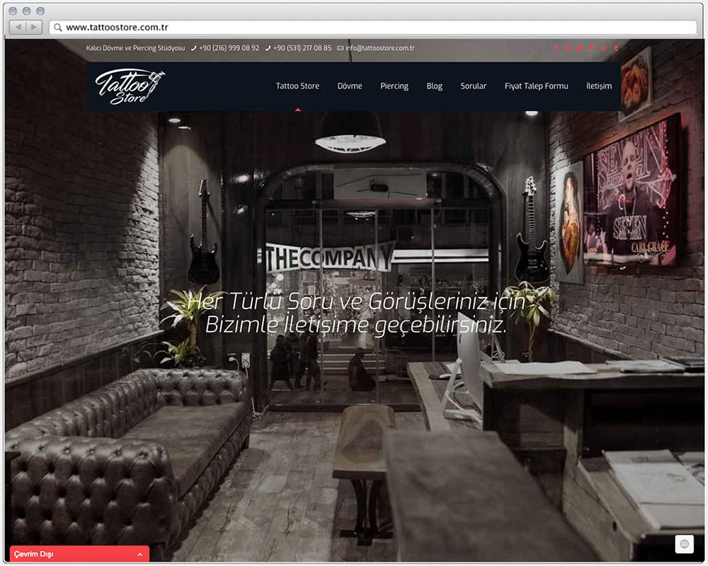 T.S Kurumsal Web Sitesi