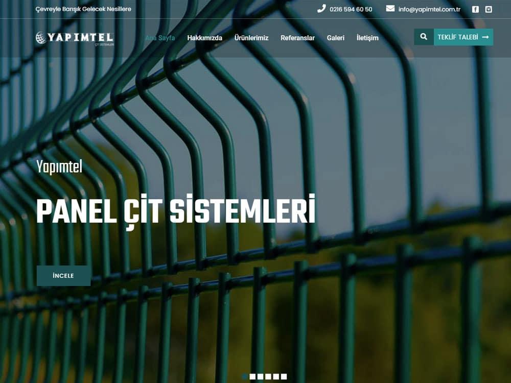 Yapımtel Kurumsal Web Sitesi